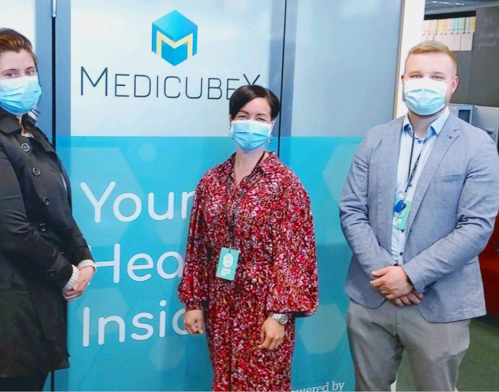MedicubeX Team - Liesbeth Swart - Mari Ingman-Ikonen - Vili Kostamo